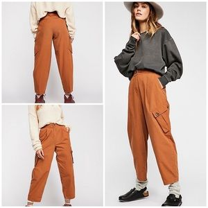 New Free People Cargo Pocket Taper Pants
